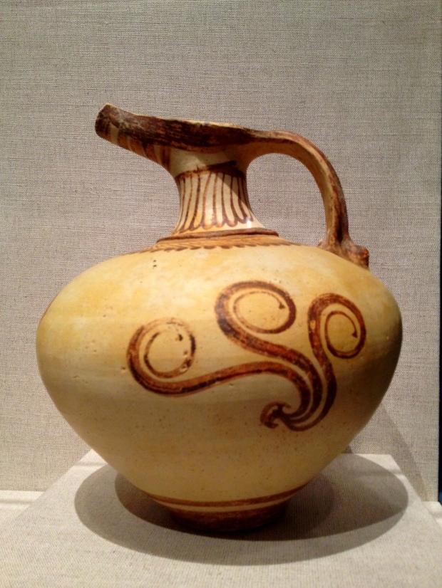 Late Helladic IIB or IIIA Mycenaean jug, Walters Art Museum, Baltimore Maryland