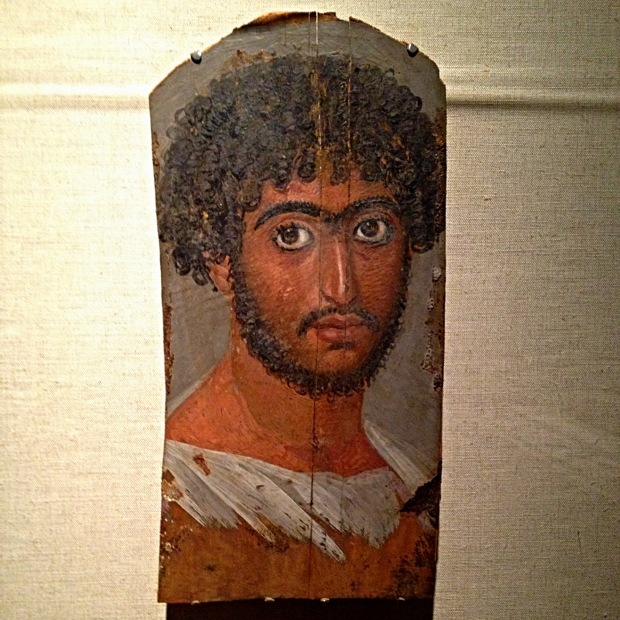 Roman-Period Egyptian Mummy Portrait, 1st-3rd century A.D., Walters Art Museum, Baltimore Maryland