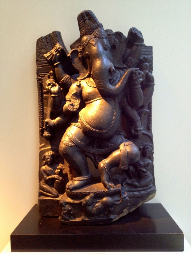 Ganesha statue from Pala Dynasty (India), 11th century, Walters Art Museum, Baltimore Maryland