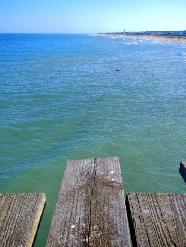 Views from the pier, Kure Beach Pier, Kure Beach, North Carolina