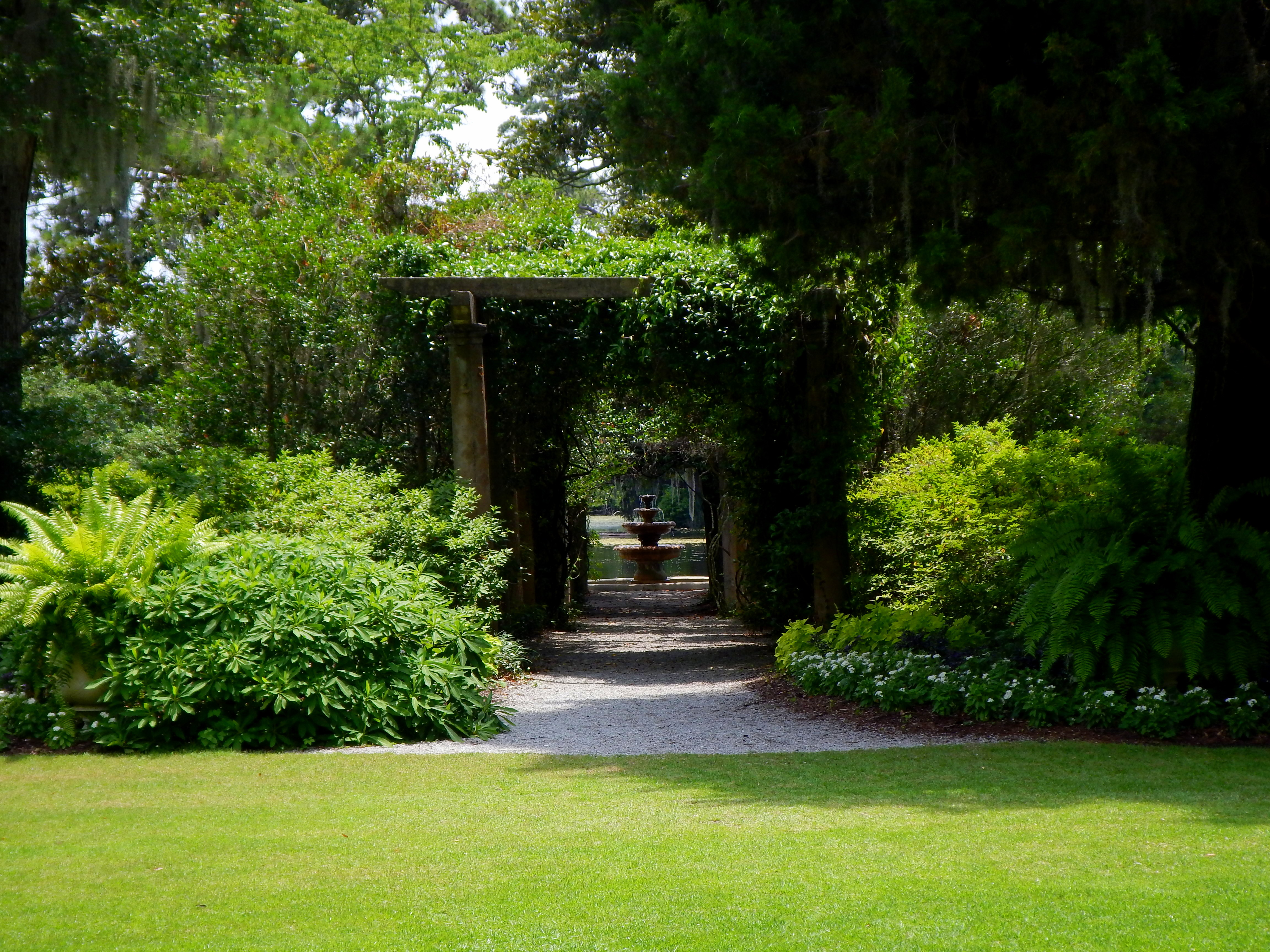 Airlie Gardens And The Bottle Chapel Wilmington North