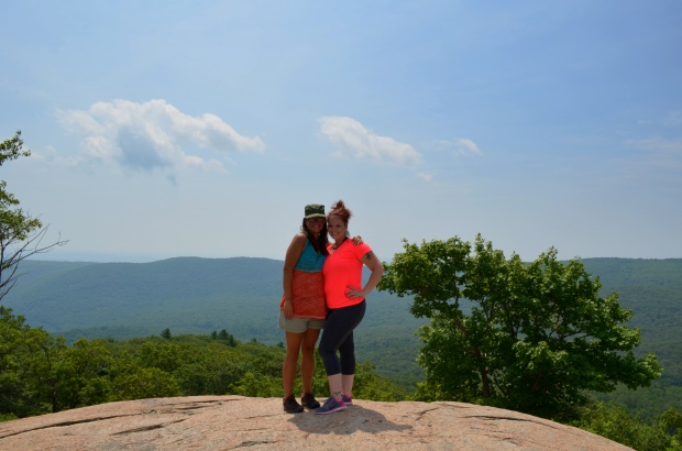 Tina and I, Bear Mountain State Park, New York