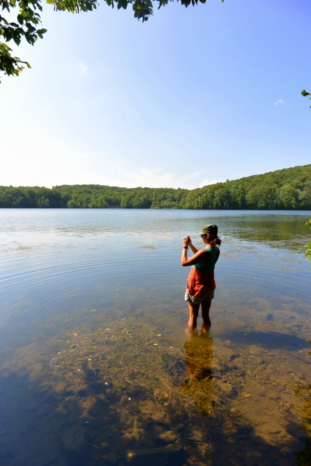 If there's water, I'm in it, Monksville Reservoir, New Jersey