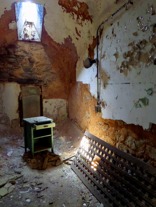 Cell, Eastern State Penitentiary, Philadelphia, Pennsylvania