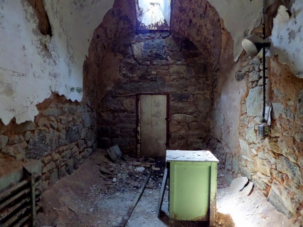 Cell, Eastern State Penitentiary, Philadelphia, Pennsylvania