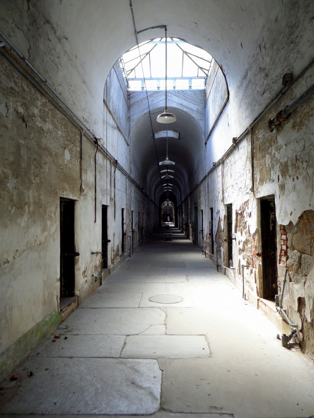 Cell block, Eastern State Penitentiary, Philadelphia, Pennsylvania