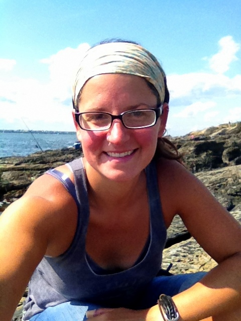 Me, Beavertail State Park, Jamestown, Rhode Island