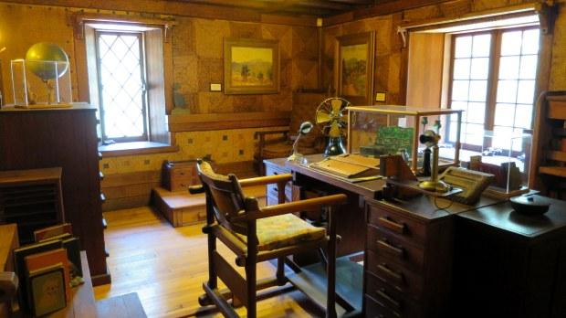 Study, Gillette's Castle, Gillette Castle State Park, Connecticut