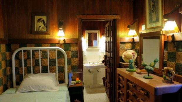 Green Bedroom, Gillette's Castle, Gillette Castle State Park, Connecticut