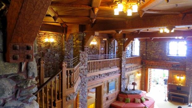 From the second floor, Gillette's Castle, Gillette Castle State Park, Connecticut