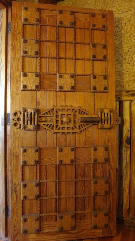 Door on third floor, Gillette's Castle, Gillette Castle State Park, Connecticut