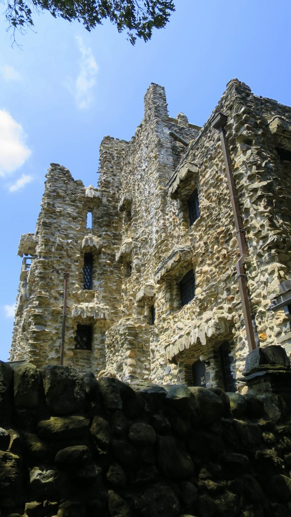 Imposing profile, Gillette's Castle, Gillette Castle State Park, Connecticut