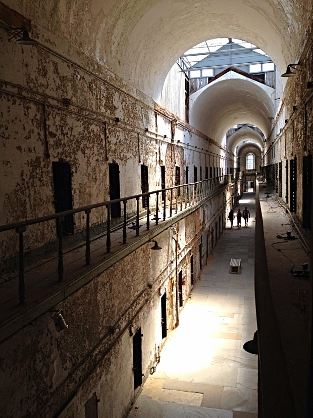 Second floor, Eastern State Penitentiary, Philadelphia, Pennsylvania