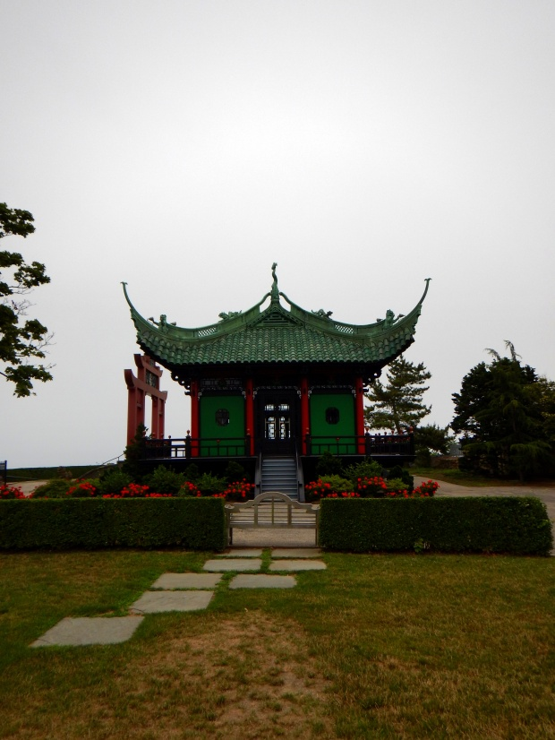 Chinese Tea House, Marble House, Newport, Rhode Island