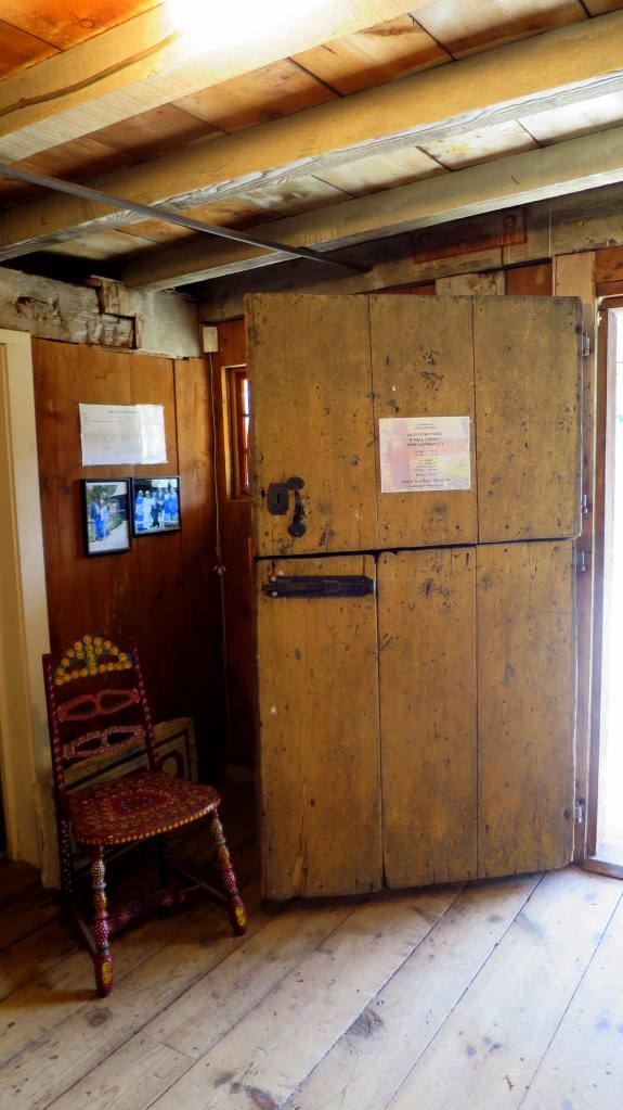 Dutch door, Old Town Mill, New London, Connecticut
