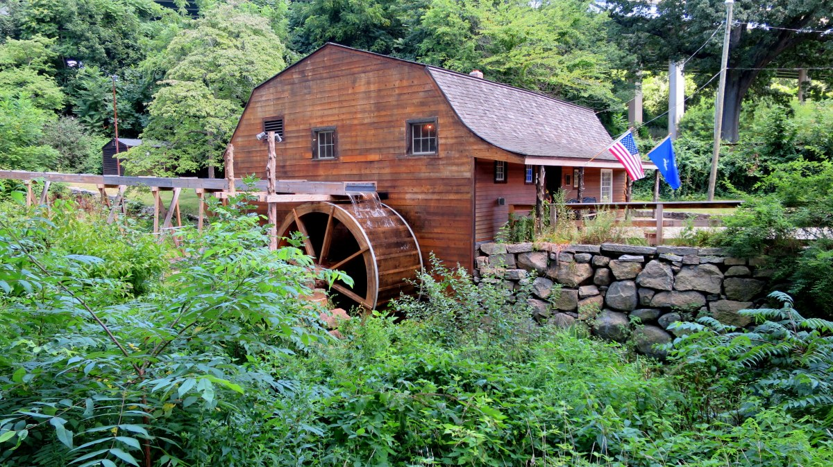 Old Town Mill, New London, Connecticut