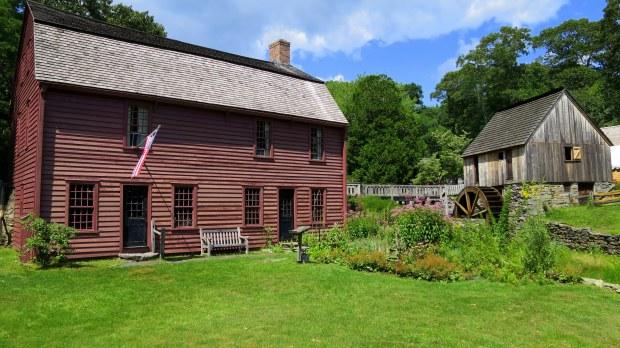 Gilbert Stuart House and Hammond Mill, Gilbert Stuart Museum, Saunderstown, Rhode Island