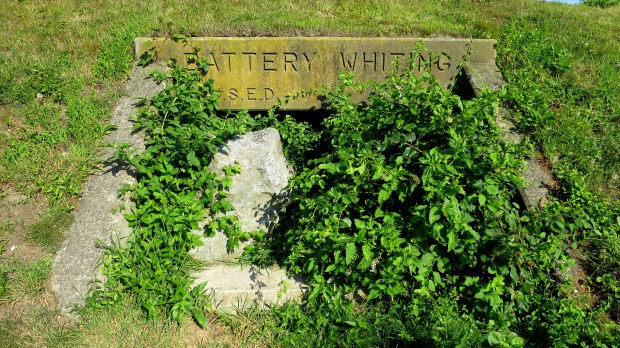 Battery Whiting, Fort Burnside fortifications, Beavertail State Park, Jamestown, Rhode Island