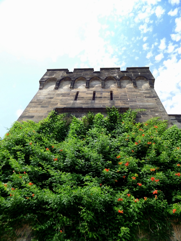 Exterior Tower, Eastern State Penitentiary, Philadelphia, Pennsylvania