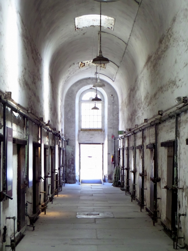 Barrel vault in cell block 1, Eastern State Penitentiary, Philadelphia, Pennsylvania