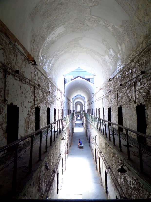 Another view from the second floor gallery, Eastern State Penitentiary, Philadelphia, Pennsylvania