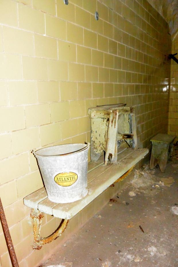Shower, Eastern State Penitentiary, Philadelphia, Pennsylvania (Photo by Tina)