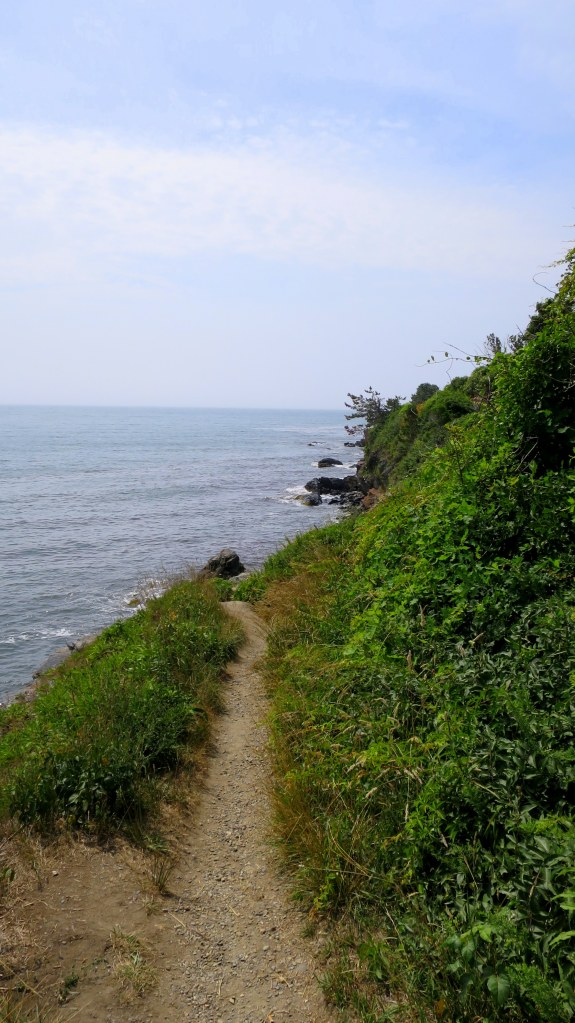 Path off the Cliff Walk, Newport, Rhode Island