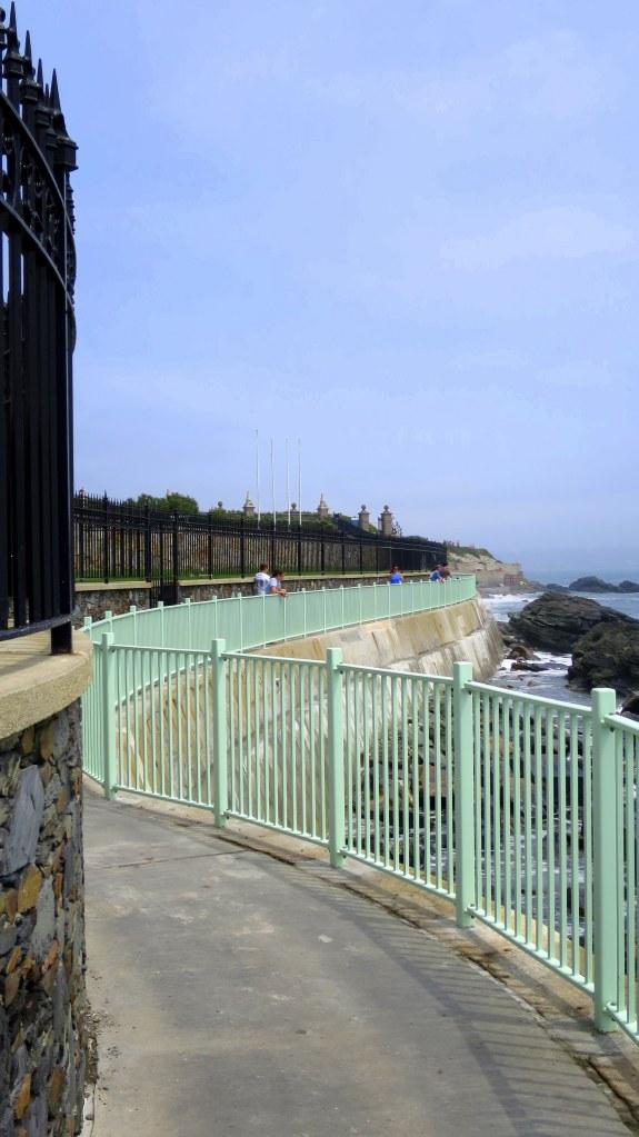 Cliff Walk near Salve Regina University, Newport, Rhode Island