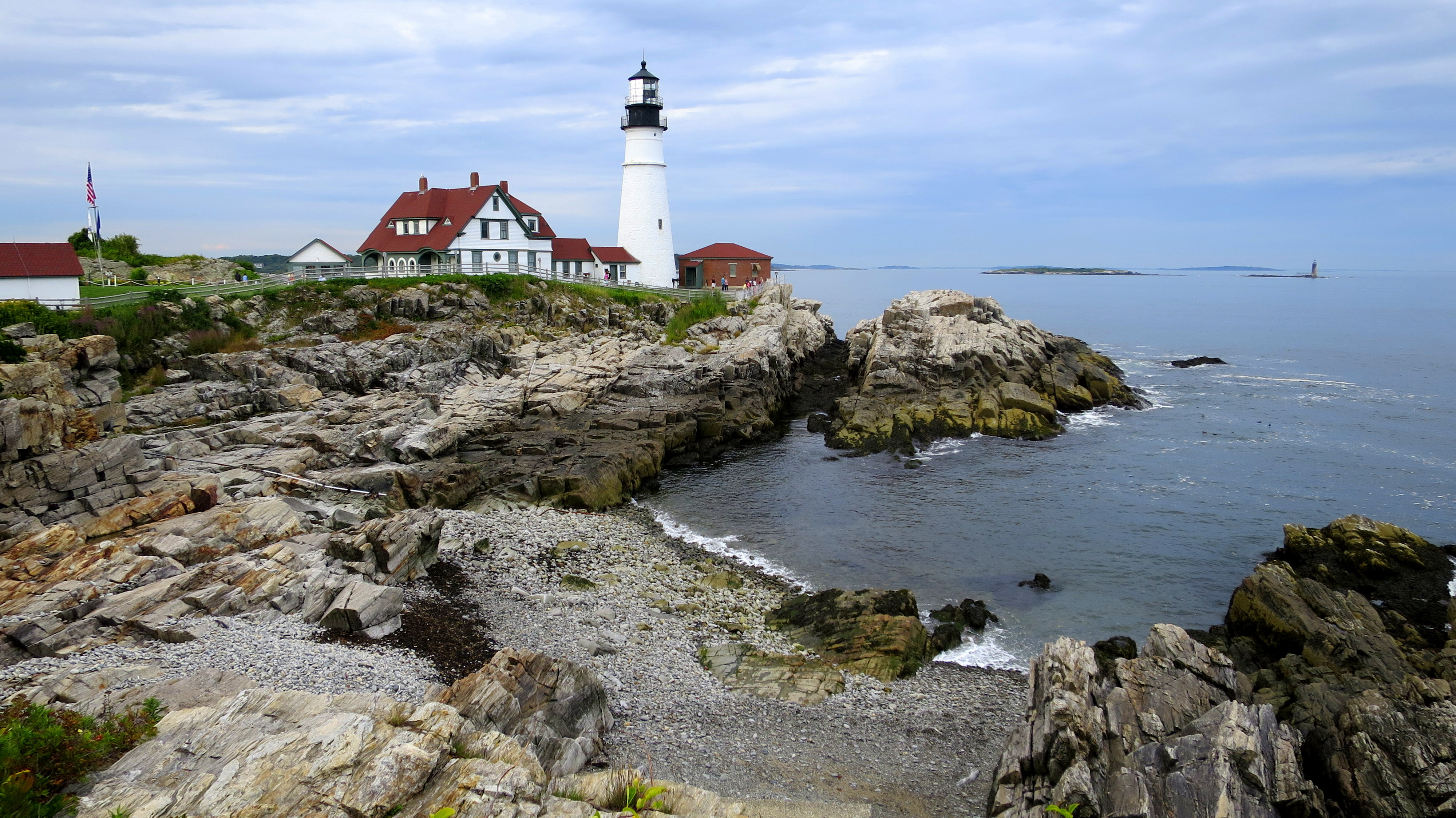 Portland Head Lighthouse And Fort Williams Park Another