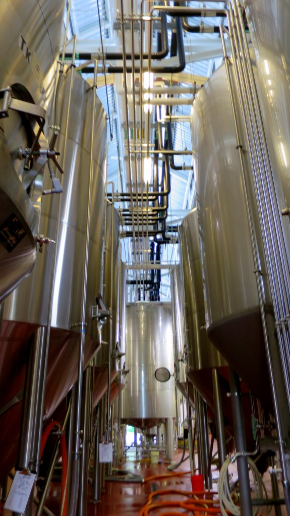 Tanks, Smuttynose Brewery, Hampton, New Hampshire