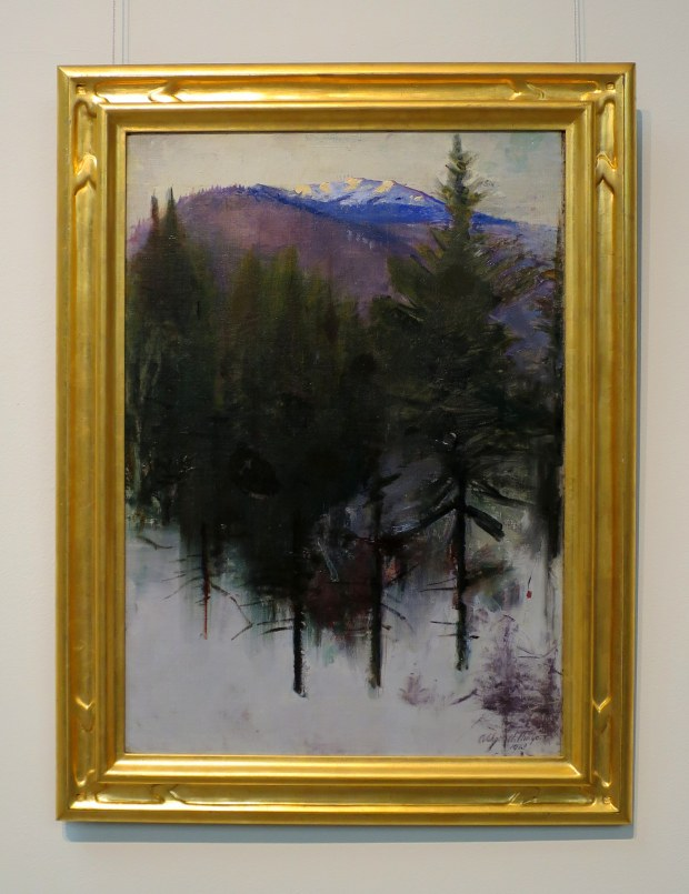 Mount Monadnock in Winter, Abbott Handerson Thayer, 1913, Currier Museum of Art, Manchester, New Hampshire