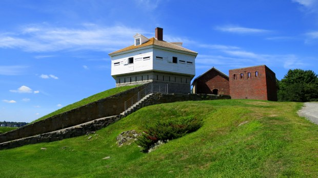 Blockhouse, Fort McClary, Kittery Point, Maine
