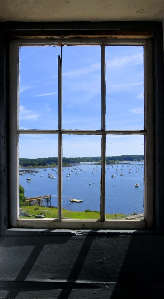 Window inside blockhouse, Fort McClary, Kittery Point, Maine