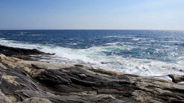 Atlantic Ocean from Pemaquid Point Lighthouse, Maine