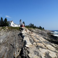 Pemaquid Point Lighthouse, Maine. Or, Maybe I Like Visiting Lighthouses to Look at Rocks.