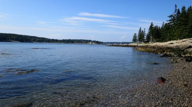 Coastline near Marshall Point Lighthouse, Port Clyde, Maine
