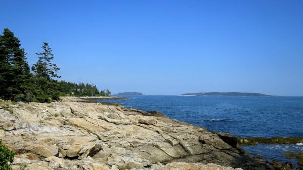Shoreline near Marshall Point Lighthouse, Port Clyde, Maine