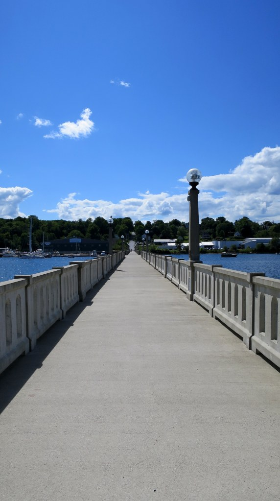 Walking bridge, Belfast, Maine