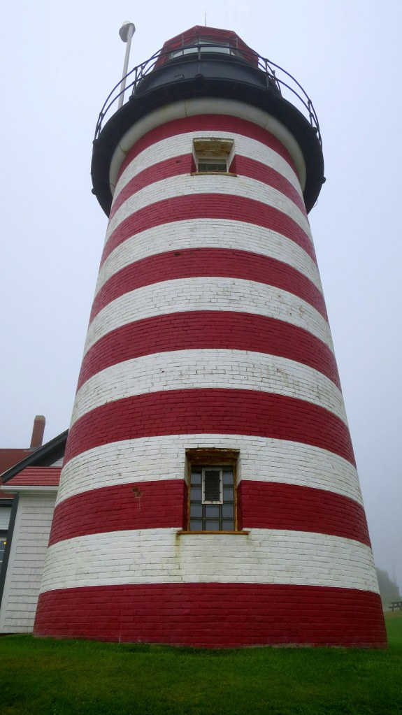Tower, West Quoddy Head Lighthouse, Lubec, Maine