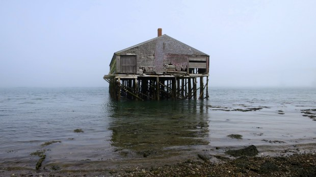 Smoke house, Lubec, Maine