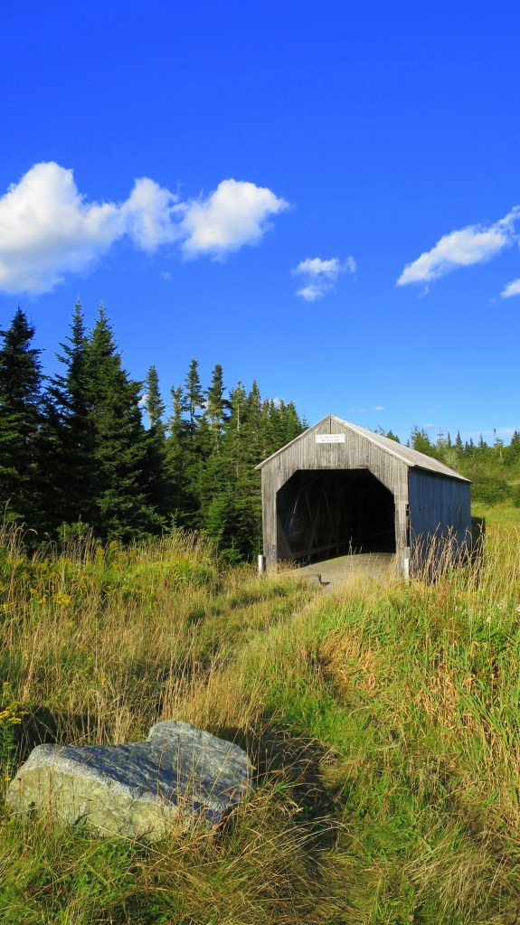 Little Lepreau River Covered Bridge, Lepreau, New Brunswick, Canada