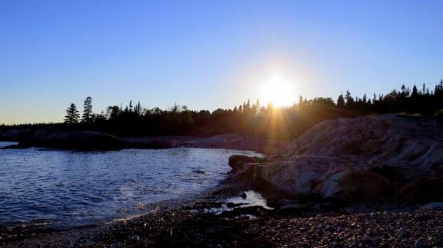 Beach near sunset, New Brunswick, Canada