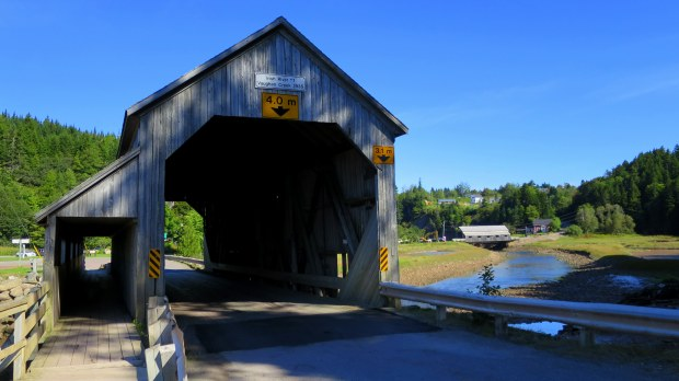 Irish River #1 and #2 Covered Bridges, St. Martins, New Brunswick, Canada
