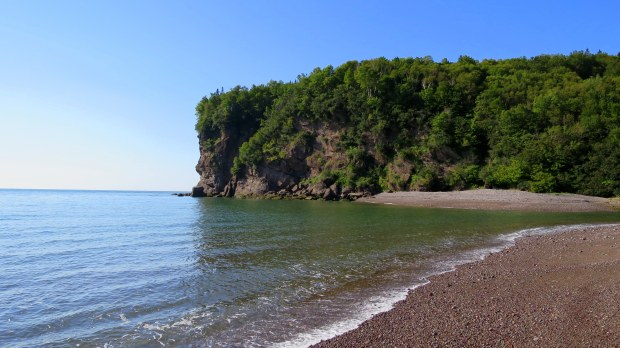 Pangburn Beach, Fundy Trail, New Brunswick, Canada