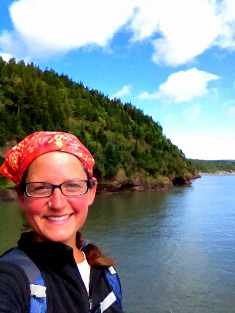 Me, Matthews Head, Fundy National Park, New Brunswick, Canada