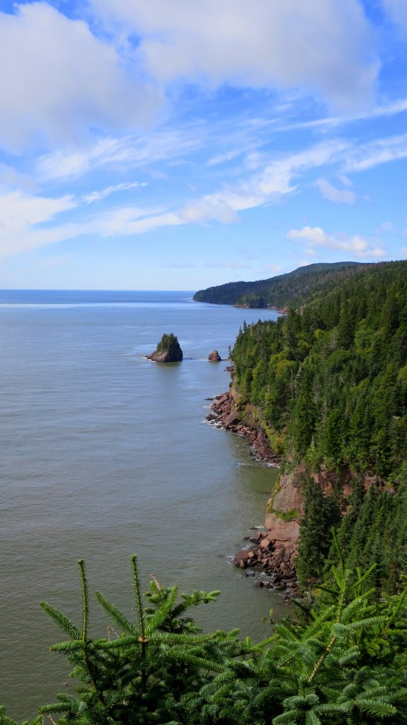 Squaw's Cap Look-Off, Matthews Head Trail, Fundy National Park, New Brunswick, Canada
