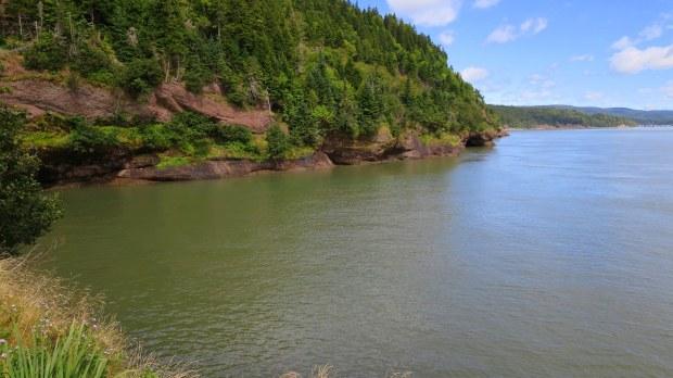 Matthews Head Trail, Fundy National Park, New Brunswick, Canada