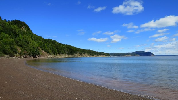 Herring Cove Beach, Coastal Trail, Fundy National Park, New Brunswick, Canada