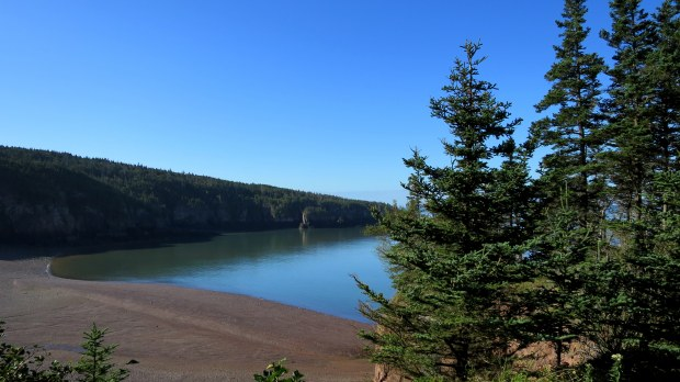Eatonville Harbor, Eatonville Trail, Cape Chignecto Provincial Park, Nova Scotia, Canada