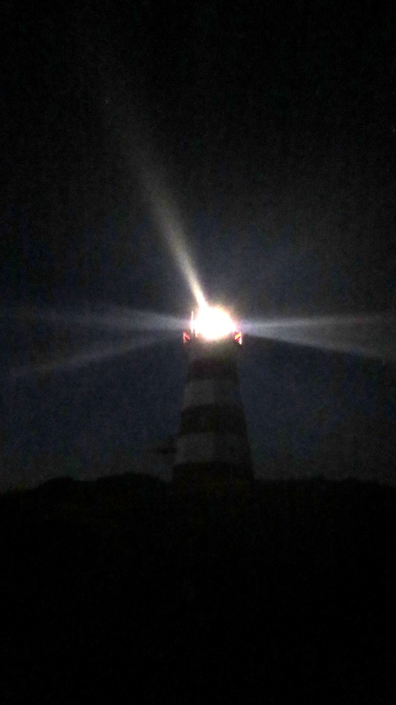 Western Light at night, Brier Island, Nova Scotia, Canada